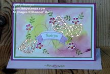 Thoughtful Branches Bundle 2016 / Projects made using Stampin' Up!'s Thoughtful Branches Limited Edition Bundle 2016