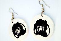 Ręcznie malowane - biżuteria / Rękodzieło tworzone z potrzeby serca