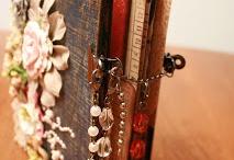 mixed media || altered books