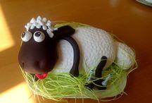 Dorty / ovečka shaun dort
