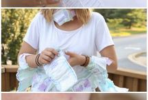 Baby Shower / Gift ideas for baby showers. Be sure to register at www.babybumpbedding.com