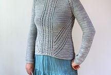 Sweater Knitting / by Sara Kay Hartmann
