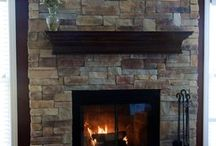 Fireplace... / by Monique Bonfiglio Doughty