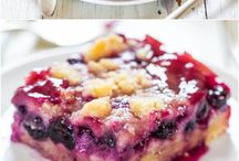 Cake and Pie oh my! / Delicious cake and pie recipes