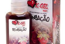 Gel e óleo beijável / Os géis e óleos beijáveis são ideais tanto para massagem corporal quanto para o sexo oral devido seu aroma e gosto baseado em frutas silvestres, escolha o seu e apimente sua transa.