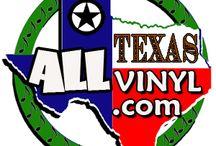 ALL TEXAS VINYL / www.ALLTEXASVINYL.com - promoting Texas musicians on Vinyl Format / by AllTexasVinyl Records