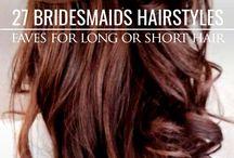 Wedding Hair / Wedding Hair, Brides Hair, Updo, Bridal Party Hair Styles, Hair Styles