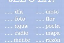 Géneros en español