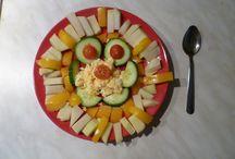 Foodie - Foodart *homemade* / Healthy food. Food for abs.  Aneb výživné, barevné snídaně plné zeleniny a živin.