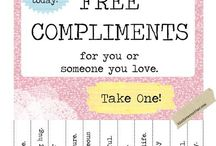 Compliments -- take one