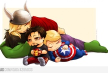 The Avengers / 5 handsome men in one place <3