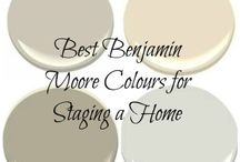 Paint colours / Benjamin moore
