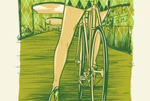Bike poster / fliers / events