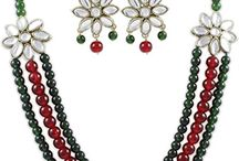 Indian Wedding Party Traditional Jewelry Set