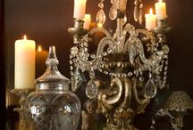Candles, Chandeliers, Candelabras, Lamps, etc.  / by Autumn Soleil