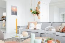 Scandinavian Decor Ideas / Whether you're looking for floaty linens, soft pastels or floral finishes, the 15 beautiful Scandinavian-inspired rooms below are full of fresh ideas.