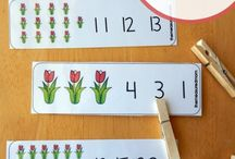 Tulips / Tulips are beautiful inspiration for kids craft