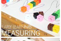 Measurement activities for Preschool / Activities for teaching Measurement to Preschoolers.