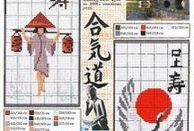 Cross stitch / Japan