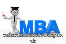 MBA Dissertation Help / Get MBA Dissertation Topics Help from Professional Writers