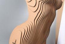 Build sculptural shapes