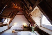 bad in slaapkamer