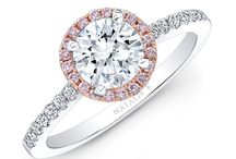 Halo engagement rings / Halo engagement rings