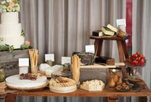 Inspiraciones - Buffet de quesos / Cheese Bar / Existen mil variedades y maneras de presentarlos. There are thousands of cheese varieties and ways to display them.