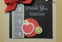 Teacher/Chalkboard Cards