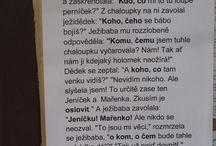 český jazyk - pády