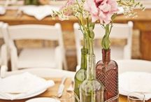 Table numbers & decoration