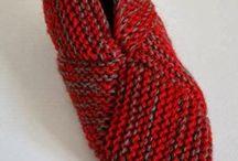 sapato de trico para adulto