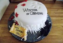 Game of Thrones cakes and cookies