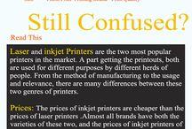 Difference Between Inkjet VS Laser Printer