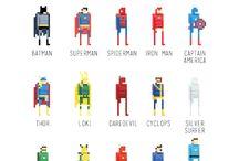 pixel.characters / pixel heroes