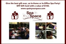 Spa Specials / Spa Specials, great for gifts such as Birthday, Valentine's Day, Anniversary or just because.