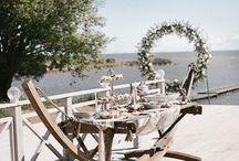 Реквизит для морской свадьбы