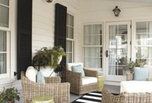Home inspiration: Cozy porches & outdoor spaces