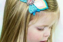 аксессуары для волос / бантики, заколки, ободочки для больших и маленьких принцесс