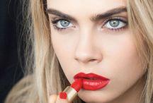 Beauty shoot editorial