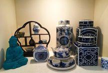 陶器 Blue &White