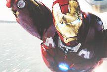 tony stark / iron man / genius, billionaire, playboy, philanthropist