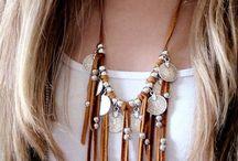 Ожерелье с бахромой