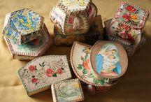 card crochet box