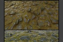 Textures for 3d model