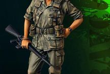 Vietnam War Soldiers 1/35 Scale