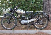 Moto Bianchi Bianchina 125 cc 1951 / Moto Bianchi Bianchina 125 cc 1951 conservato