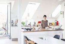 Lys i køkkenet