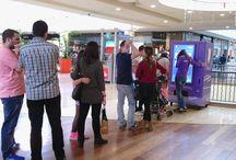 Smart Vending Milka / Smart vending fabricadas por InnovaPos para Milka