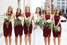 2015 Wedding Trends + Inspiration / The Color of the Year - Marsala, and other emerging wedding + bridal trends for 2015
